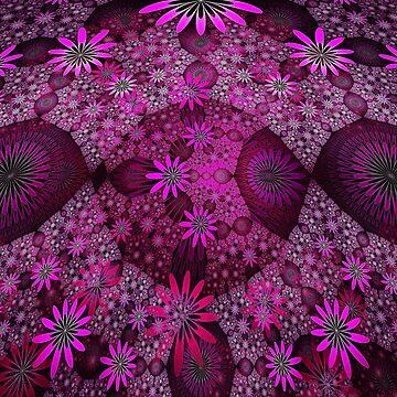 Pink Flower Meadows by bettycruz