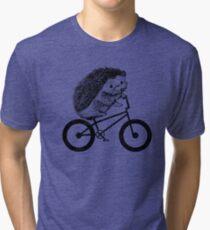 Hedgehog BMX Tri-blend T-Shirt