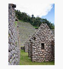 Stone on Stone - Sacred Valley, Peru Photographic Print