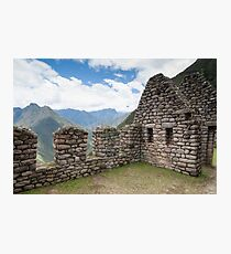 Forever Young - Wiñay Wayna Ruins, Peru Photographic Print