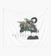 Nujabes Graffiti Custom Design Wall Tapestry
