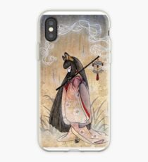 Bad Thoughts - Kitsune Fox Yokai  iPhone Case