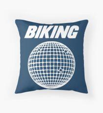 Biking - Frank Ocean Throw Pillow