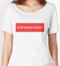Screaming Inside Women's Relaxed Fit T-Shirt