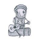 Guitar Man by caratoons