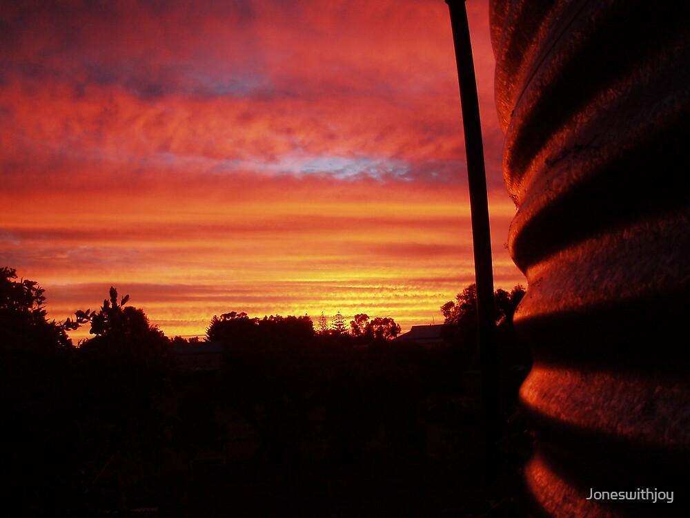 Sunset tank by Joneswithjoy