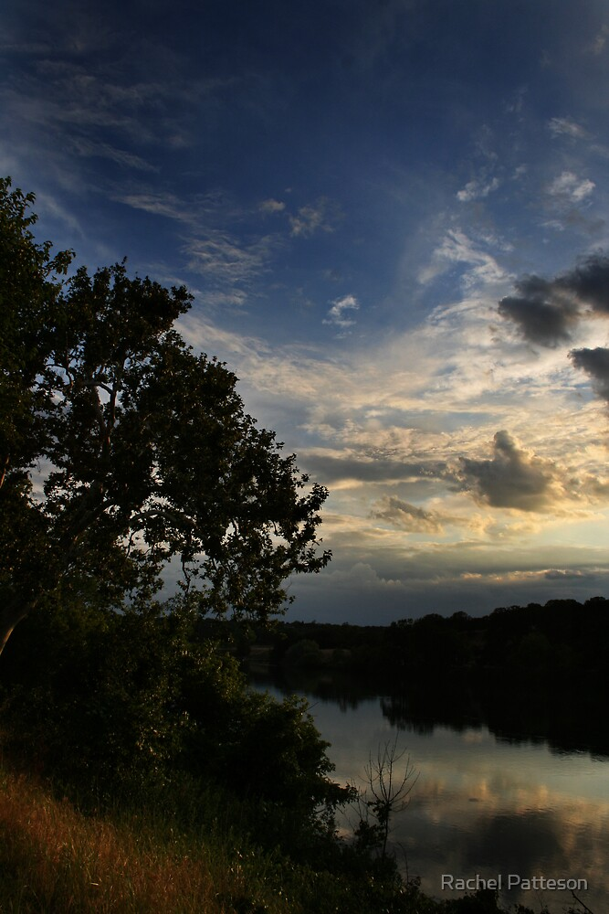 Sacramento River at Sunset by Rachel Patteson