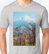 Mt Fuji Spring Unisex T-Shirt