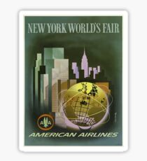 Vintage Travel Poster – New York World's Fair Sticker