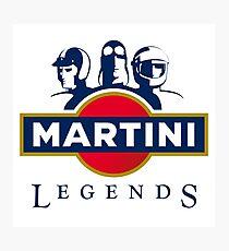 martini racing Photographic Print