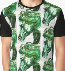 Emerald horse Graphic T-Shirt