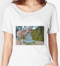 Miyajima Deer Women's Relaxed Fit T-Shirt