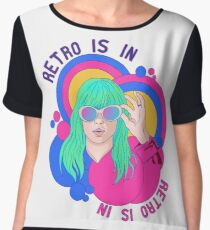 Retro Is In - Hayley Inspired Chiffon Top