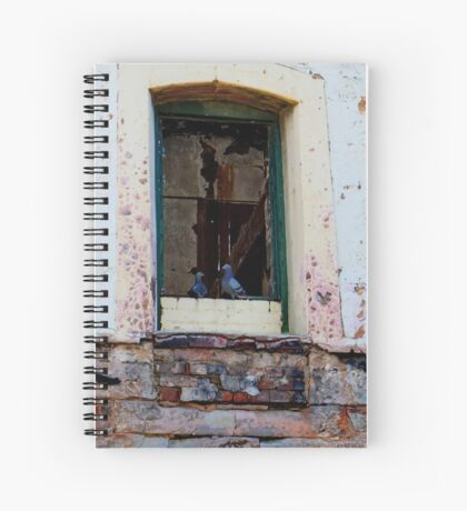 Old Mill Pidgeons Chatting Spiral Notebook