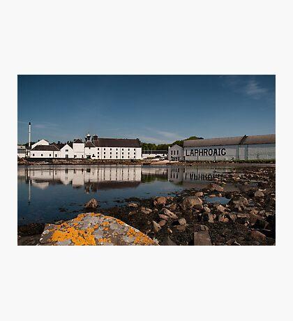 Islay: Laphroaig Distillery Photographic Print