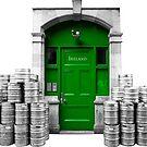 Irish Door by Rae Tucker