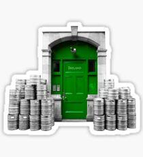 Irish Door Sticker