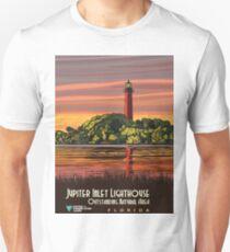 Vintage Travel Poster- Jupiter Inlet Lighthouse, Florida T-Shirt