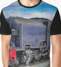 A Man And A Train  Graphic T-Shirt