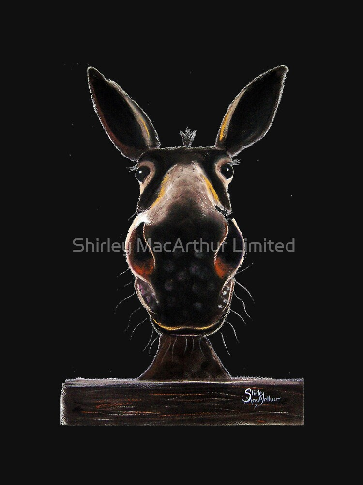 HAPPY DONKEY ' DEIRDRE DONKEY' BY SHIRLEY MACARTHUR by ShirleyMacA