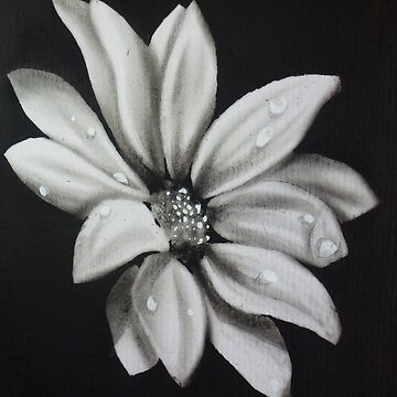 Flower with oil painting by Artanimalier