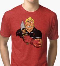 Slayer of Henchmen Tri-blend T-Shirt
