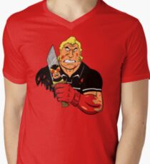 Slayer of Henchmen Mens V-Neck T-Shirt