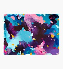 Blackout - abstract acrylic painting Photographic Print