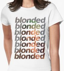 Frank Ocean - Blonded Womens Fitted T-Shirt