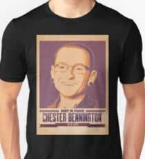 Rest In Peace Chester Bennington Unisex T-Shirt