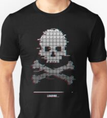 Loading Game over Stereo Glitch Unisex T-Shirt