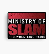 Ministry Of Slam Logo Gear Canvas Print