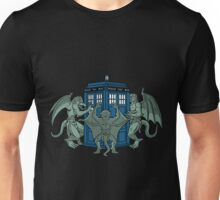 The Gargoyles have the phone box Unisex T-Shirt