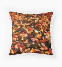 Blazen Leaves Throw Pillow