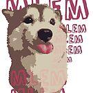 MLEM - Chocolate Husky Doggo by PiCCa