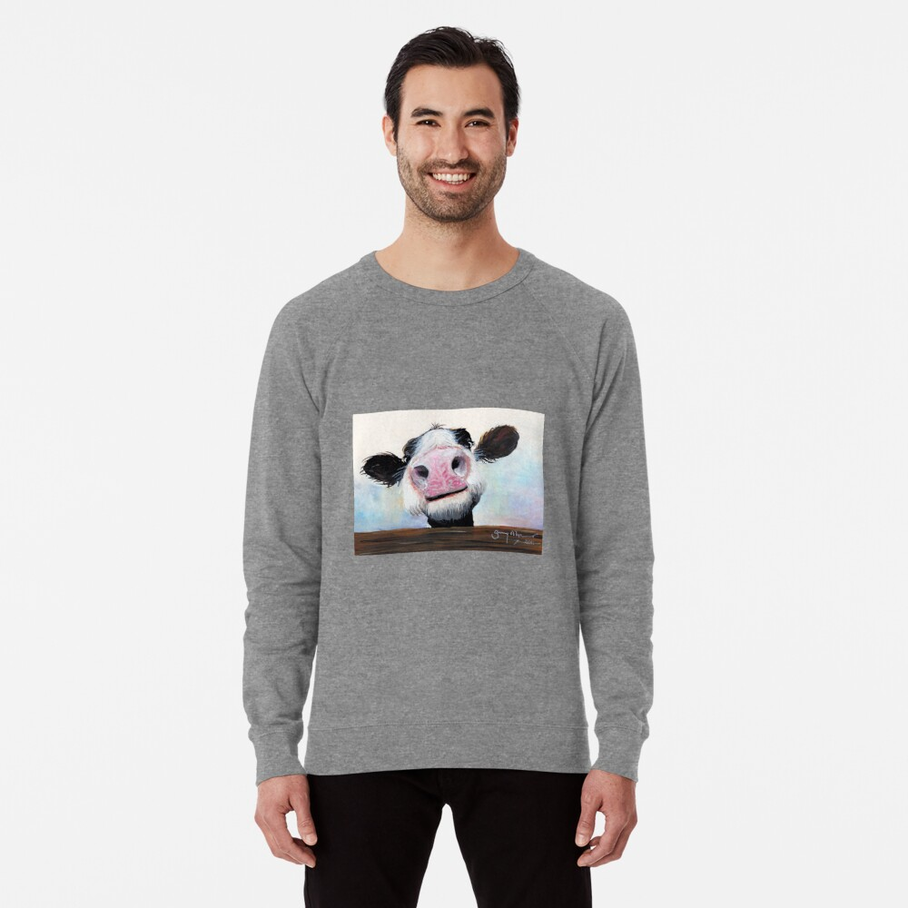 NOSY COW 'HE! WIE GEHT ES? VON SHIRLEY MACARTHUR Leichter Pullover