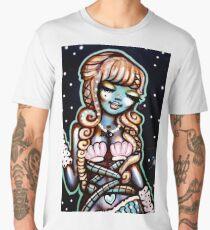 Street Art - The Happy Mermaid Men's Premium T-Shirt
