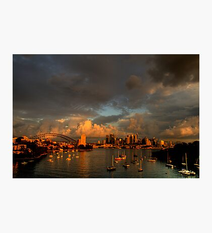 Silence Before The Storm - Moods of A City # 28 - Sydney Australia Photographic Print