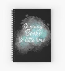 Bookish life Spiral Notebook