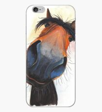 HAPPY HORSE 'HAPPY DAVE' BY SHIRLEY MACARTHUR iPhone Case