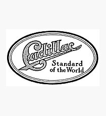Vintage Ad - Cadillac Standard of the World Photographic Print