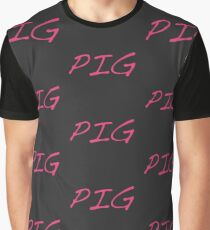 I love pigs  Graphic T-Shirt