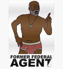 Phillip Sheppard- Former Federal Agent Poster
