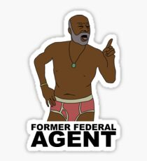 Phillip Sheppard- Former Federal Agent Sticker