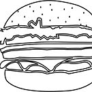 Burger Colour In by creativecamart