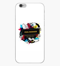 Poolmanager iPhone-Hülle & Cover