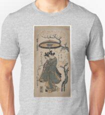 Right - Toyonobu Ishikawa - 1748 Unisex T-Shirt