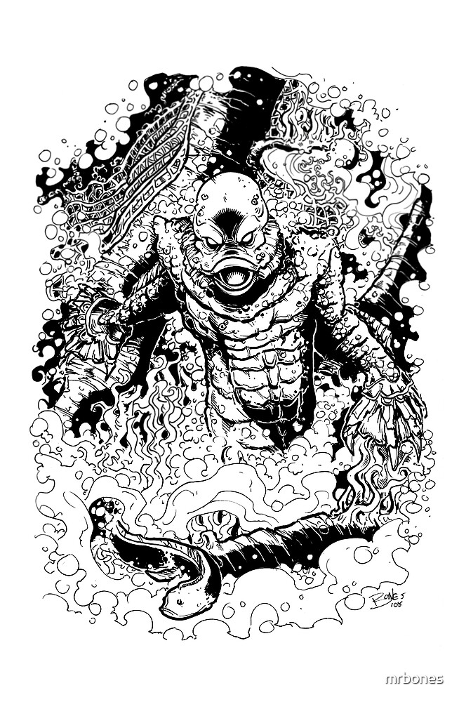 THE CREATURE by mrbones