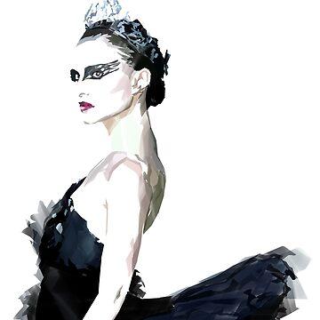 Cisne negro de bluhak