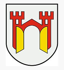 Offenburg Coat of Arms, Germany Photographic Print